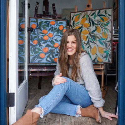 Artist Rachel Roe Finds Inspiration in Her She Shed