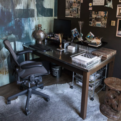 Home Office in a She Shed: Five Design Tips