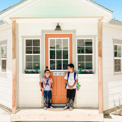 Back-to-School Shed: Jen's She Shed Schoolhouse