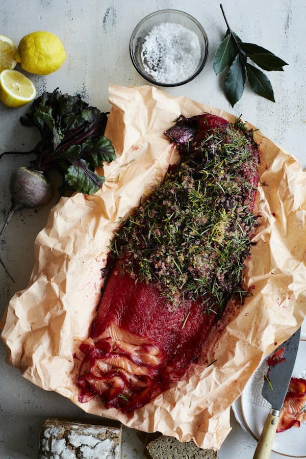 Christmas-Cured Fish