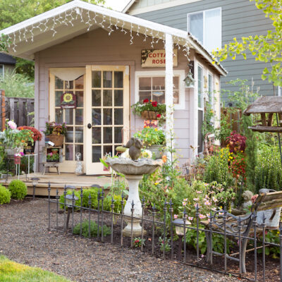 An Oregon Artist's Cottage Shed