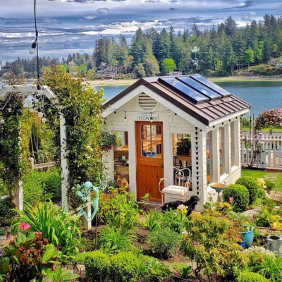 Garden Shed Eden in the Pacific Northwest