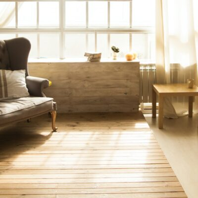 Brighten Up Your Shed's Wood Floors