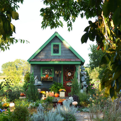 She Shed Fall Decor Tips with Miss October